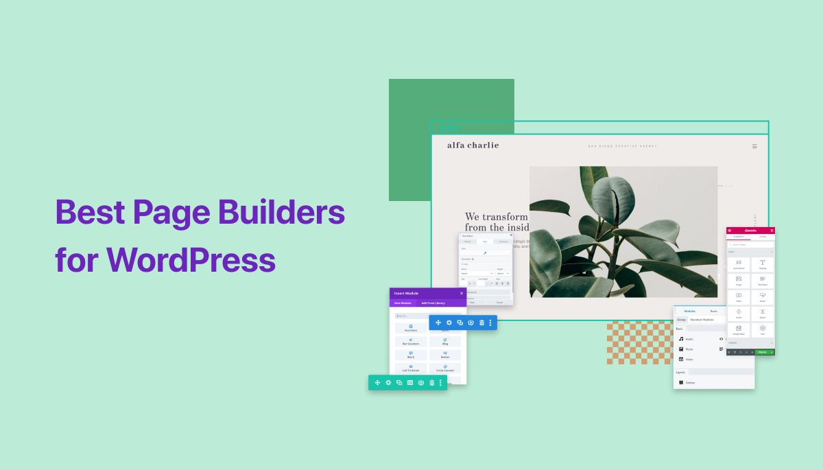 Best Page Builders for WordPress in 2020