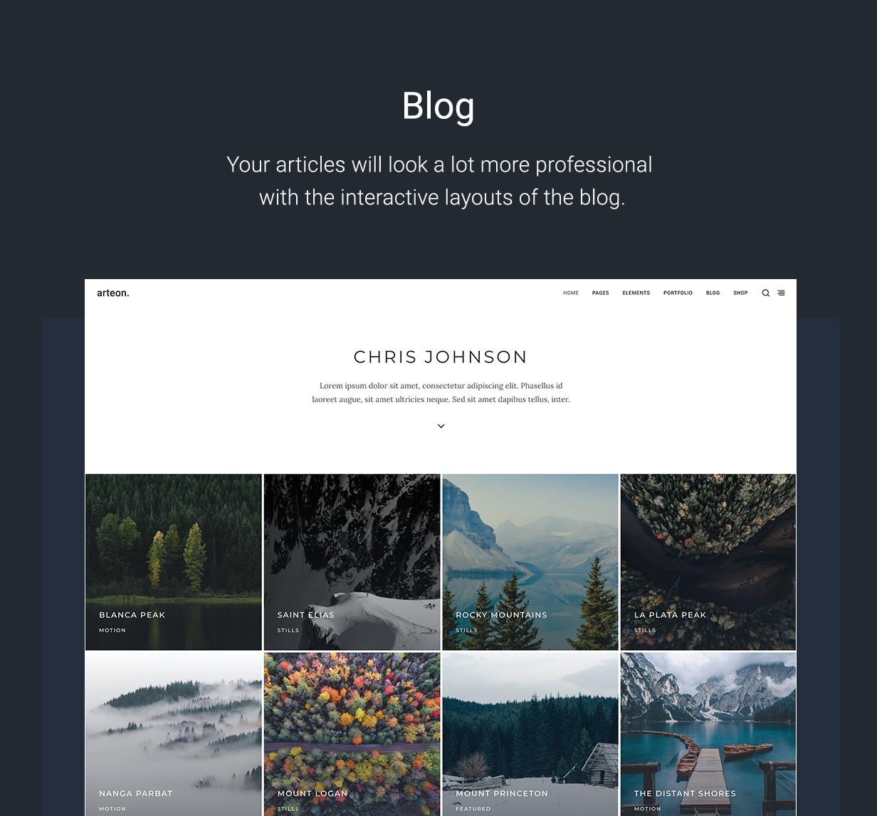 Arteon - Multi-Purpose WordPress Theme