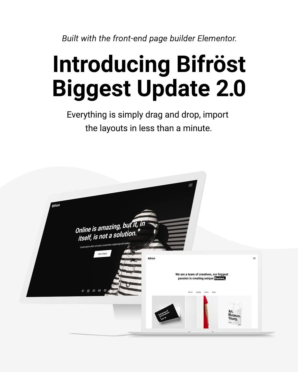 Bifrost - Simple Portfolio WordPress Theme crate - minimalist wordpress theme nulled free download Crate – Minimalist WordPress Theme Nulled Free Download bifrost intro