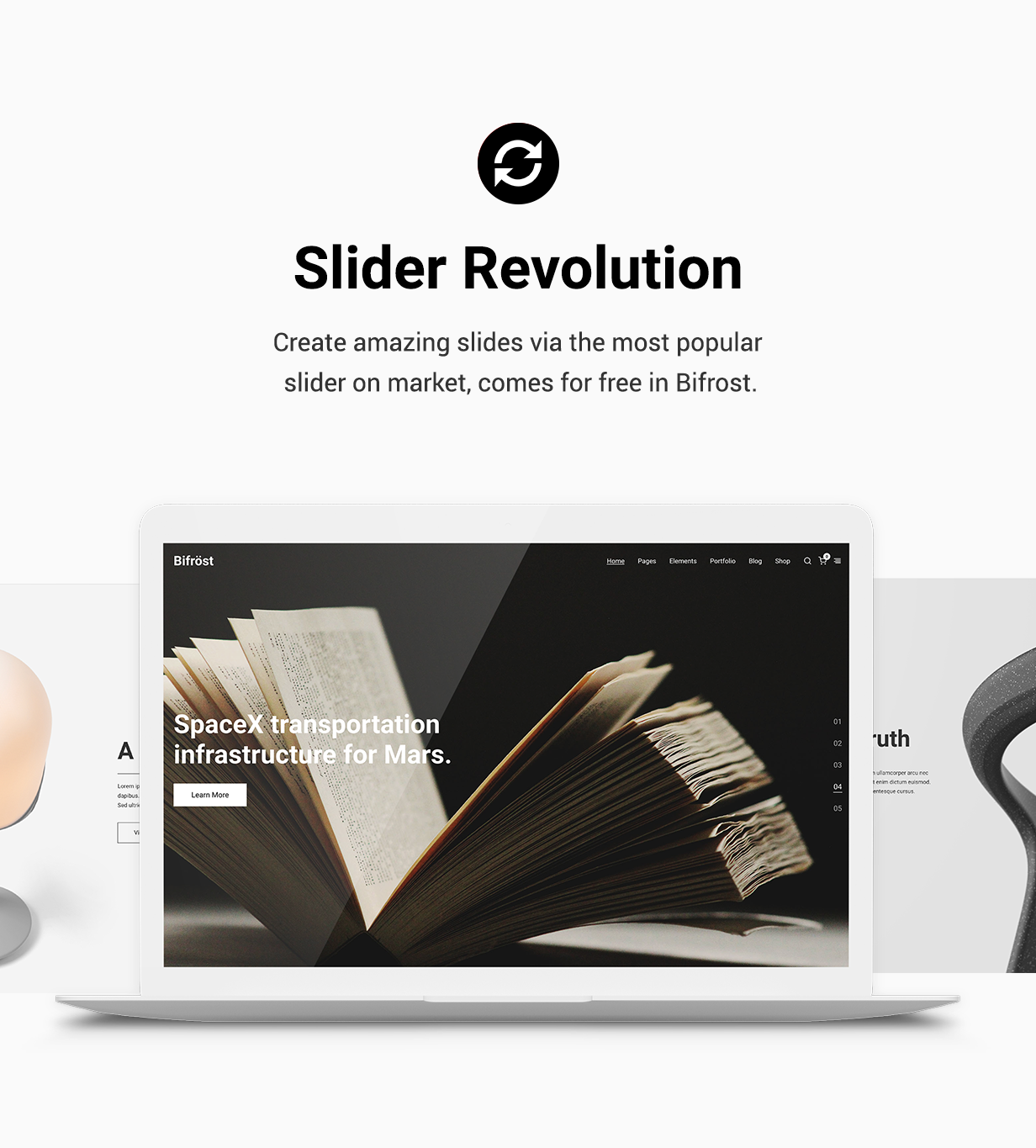Bifrost - Simple WordPress Theme