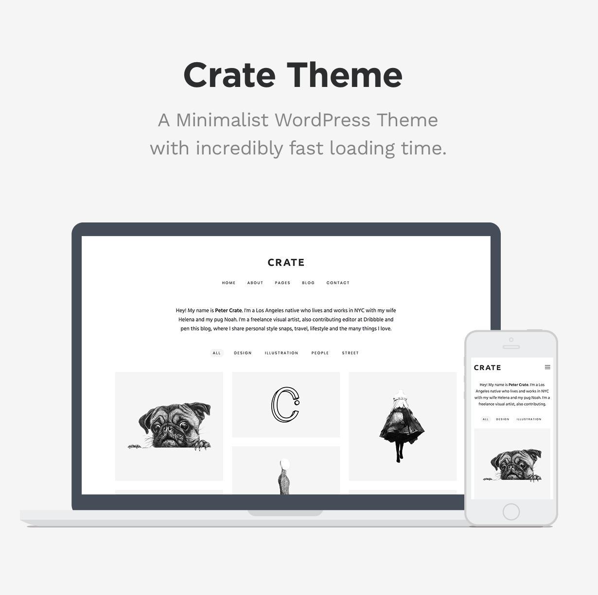 Crate - Minimalist WordPress Theme - 1 crate - minimalist wordpress theme nulled free download Crate – Minimalist WordPress Theme Nulled Free Download intro second