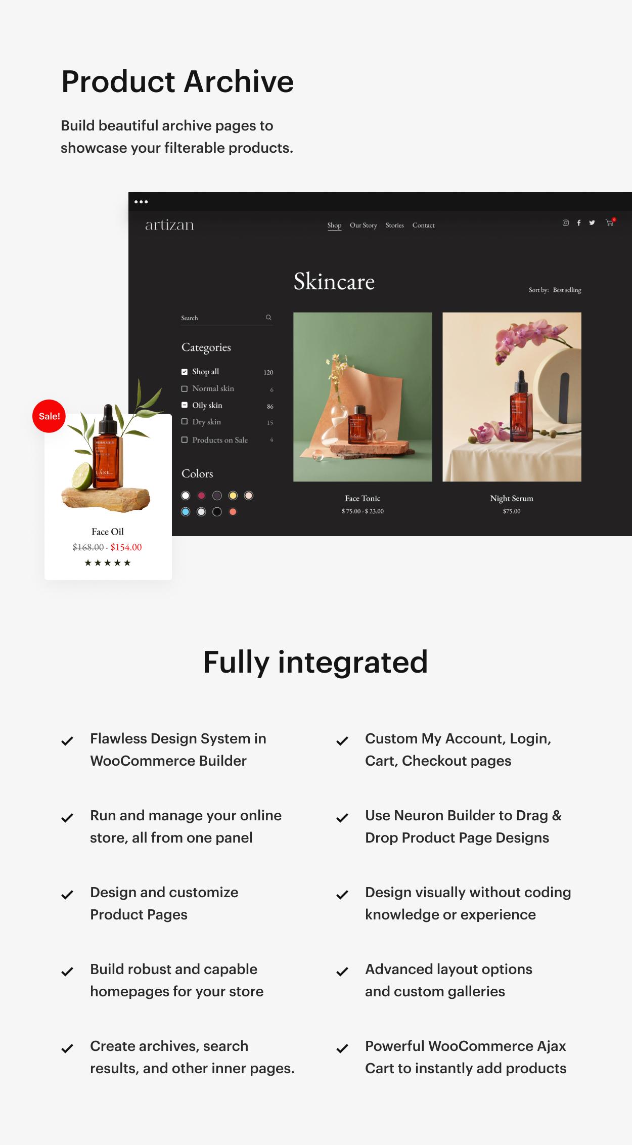 Kaon WordPress Theme - Product Archive