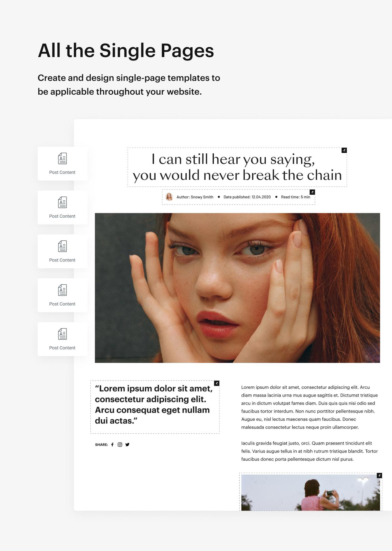 Kaon WordPress Theme - Single Post