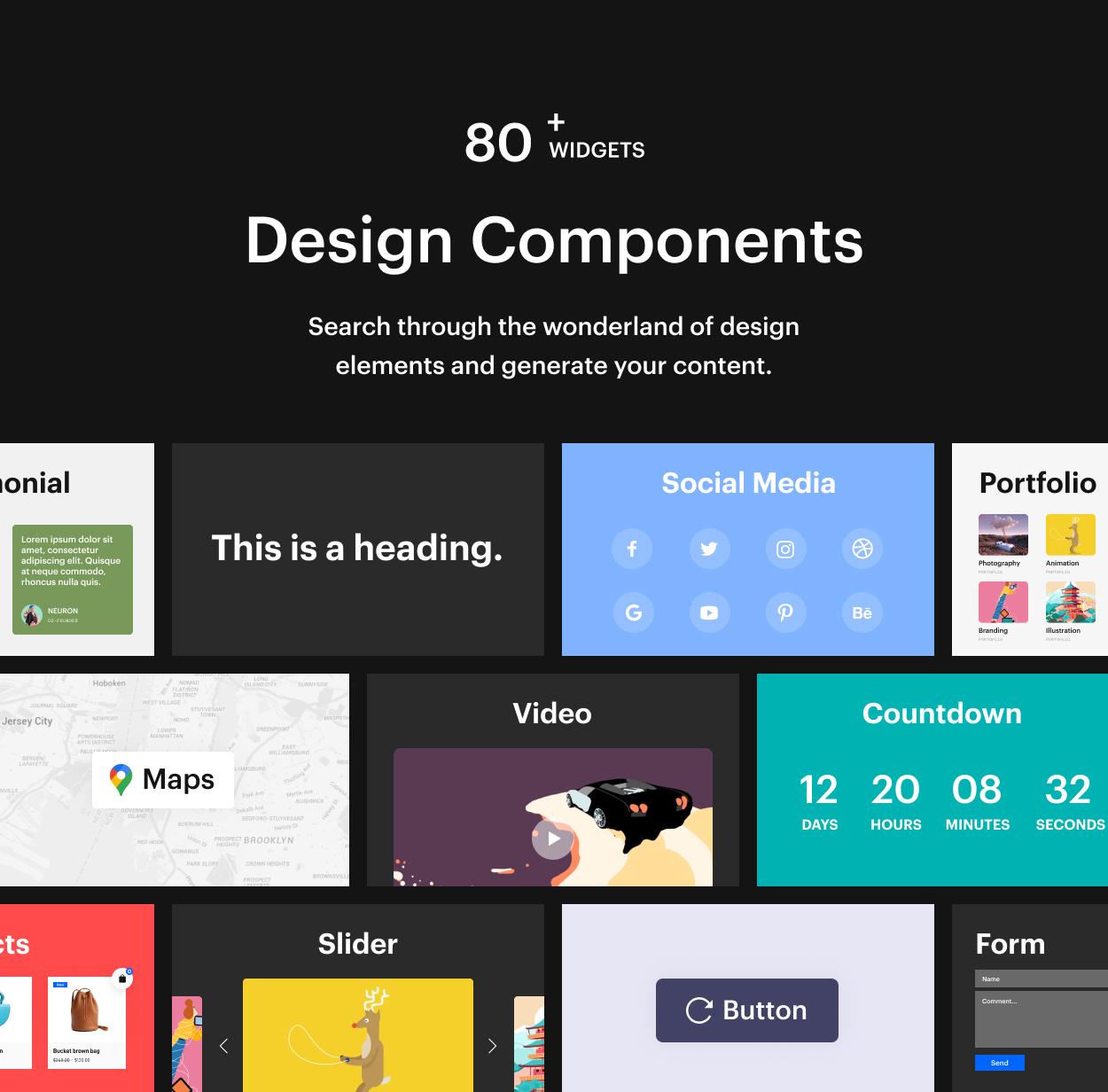 Kaon WordPress Theme - Elements