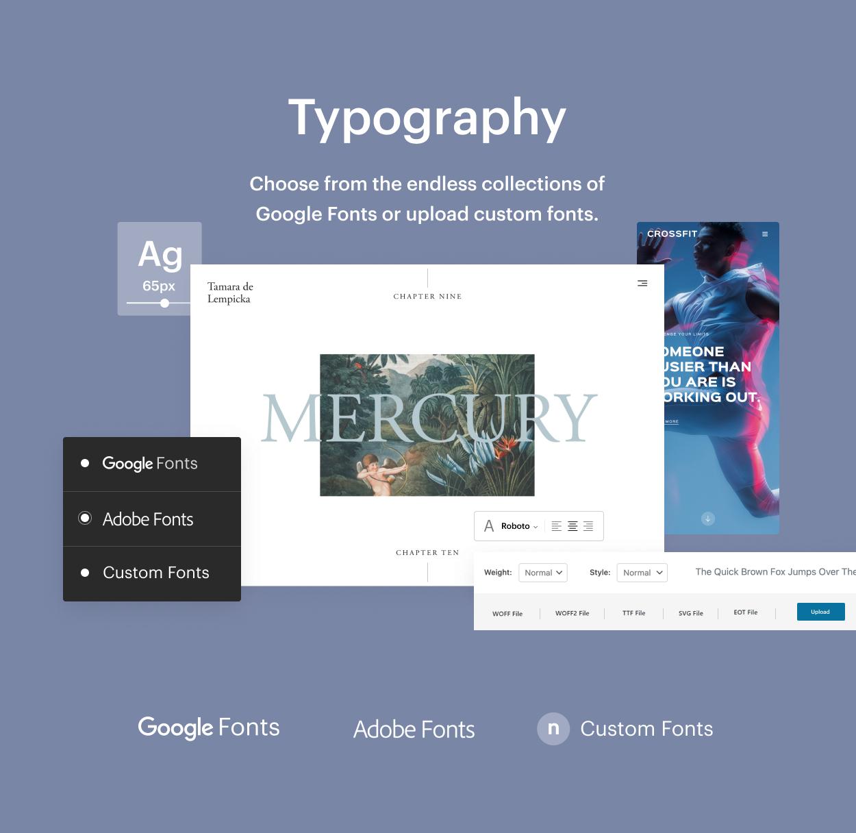 Kaon WordPress Theme - Typography