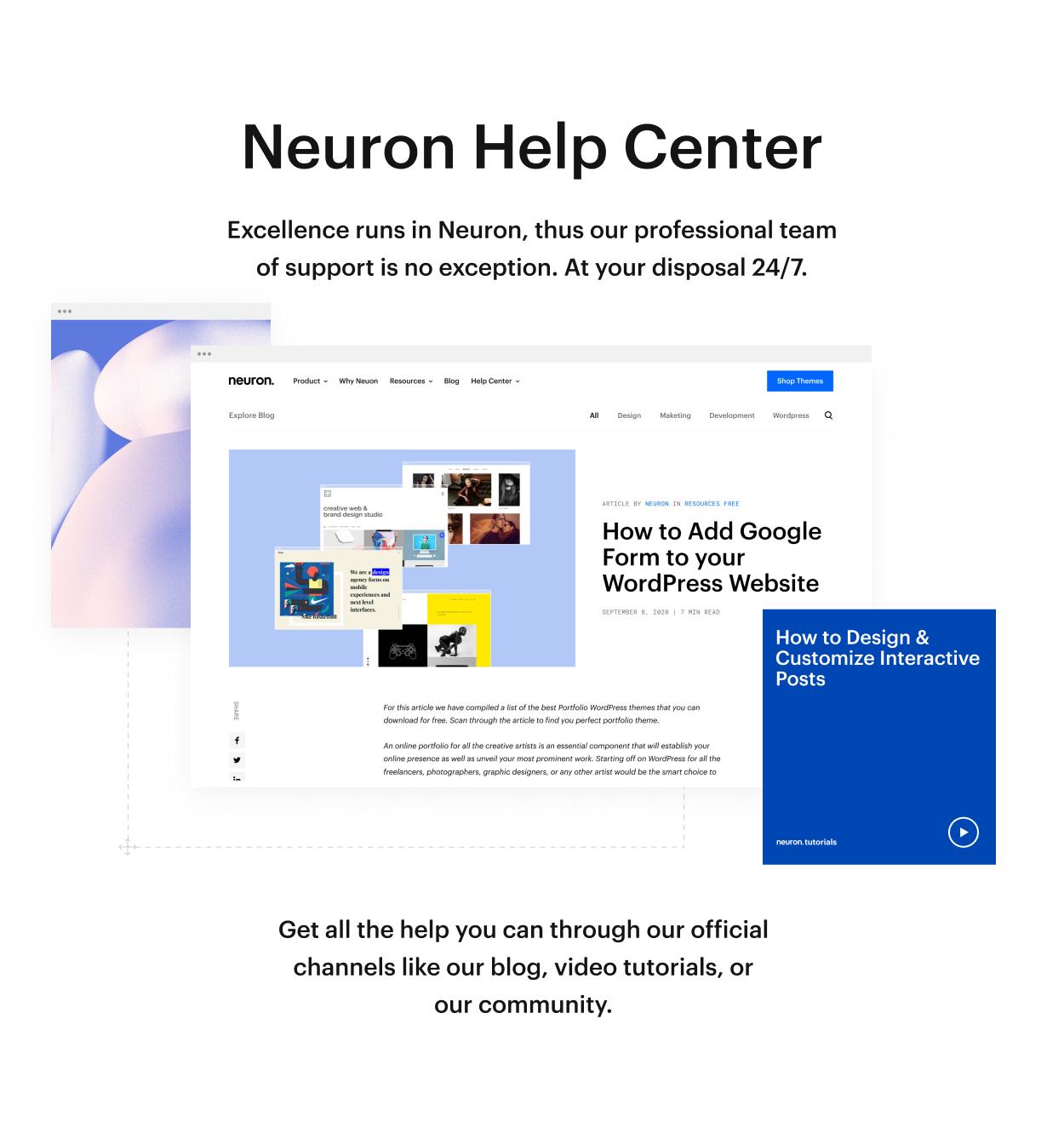 Kaon WordPress Theme - Help Center