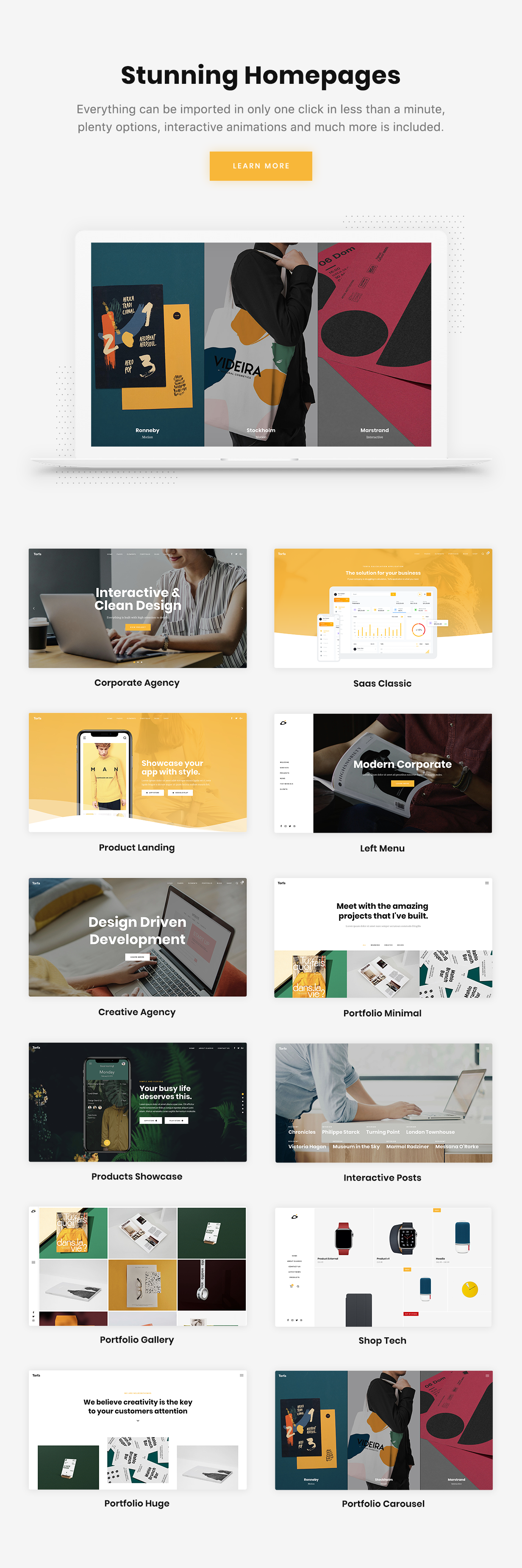 Torfa - Multi-Concept Agency Theme